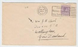 Bahamas/New Zealand TOURIST SLOGAN COVER 1947