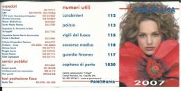 CAL626 - CALENDARIETTO 2007 - CENTRO COMMERCIALE I GIGLI - CAMPI BISENZIO (FI)