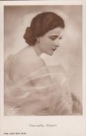 CPA   PHOTO Rose  ARTISTE Italienne  MARCELLA ALBANI  Actrice  CINEMA MUET Années 1920 - Artisti