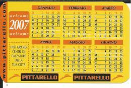 CAL629- CALENDARIETTO 2007 - PITTARELLO