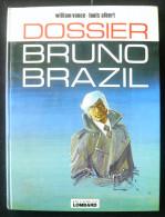 Bruno Brazil 10 Dossier Bruno Brazil EO 1977 Lombard TBE - Bruno Brazil