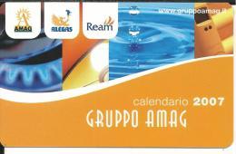 CAL632- CALENDARIETTO 2007 - GRUPPO AMAG