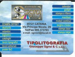 CAL633- CALENDARIETTO 2007 - SGROI TIPOLITOGRAFIA - CATANIA