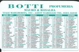CAL634- CALENDARIETTO 2007 - BOTTI PROFUMERIA - VIAREGGIO