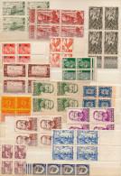 COLONIES FRANCAISES  15 BLOCS DE 4-neufs **** Sans Ch-bel état -bonne Cote Générale - Stamps