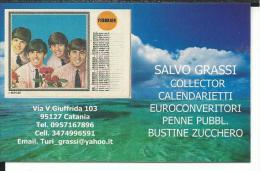 CAL641- CALENDARIETTO 2007 - SALVO GRASSI COLLEZIONISTA - CATANIA