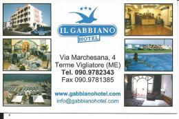 CAL655- CALENDARIETTO 2007 - IL GABBIANO HOTEL - TERME VIGLIATORE (ME)