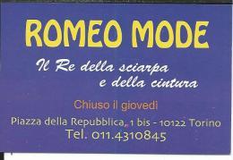 CAL646- CALENDARIETTO 2007 - ROMEO MODE - TORINO