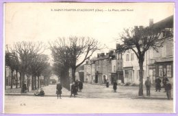 18 - SAINT MARTIN D´AUXIGNY -- La Place , Côté Nord - Autres Communes