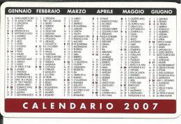 CAL651 - CALENDARIETTO 2007 - GENERALI ASSICURAZIONI
