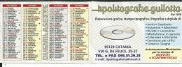 CAL652 - CALENDARIETTO 2007 - TIPOLITOGRAFIA GULLOTTA - CATANIA