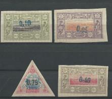 COTE DES SOMALIS - YVERT N° 23a/26 - COTE = 1715 EUR. - - Côte Française Des Somalis (1894-1967)