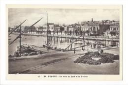 10439 - Sousse Un Coin Du Port Et La Casbah - Tunisie