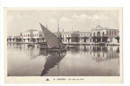10441 - Sousse Un Coin Du Port Barque - Tunisie