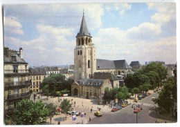 Paris - Place Et Eglise De Saint-Germain-des-Prés - 1987 éd. E.C. - Utilisée Pour Concours - 2 Scans - Places, Squares
