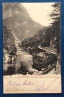 WEG INS GROSSE KOLLENTHAL MIT DER SCHWARZA BEI KIRSCHWANG - ANNULLO  A BARRE  SEMMERING -.1901 - Graz