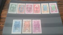LOT 229671 TIMBRE DE COLONIE OUBANGUI NEUF* N�75 A 83 VALEUR 57 EUROS