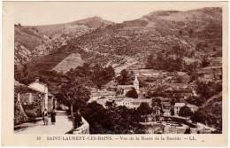 Saint Laurent Les Bains - Vue De La Route De La Bastide - France