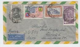 Brazil/Switzerland AIRMAIL REGISTERED COVER 1947 - Brazil