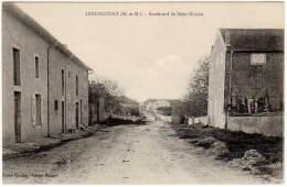 Lenoncourt - Boulevard De La Saint-Nicolas (édition Mangent) - France