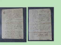 30 GARRIGUES 1er EMPIRE 1813 BOUZANQUET (Aymagues) Achat De Garrigues,  ; Ref513VP37 - Autographs