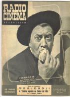 "revueancienne 1952 ""Radio Cin�ma N� 124 Fernandel"