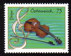 ÖSTERREICH 2011 ** Geige - Musikinstrument MNH - 1945-.... 2ème République