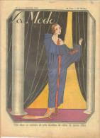 """revue ancienne 1923 """"la Mode"""" N� 1"""