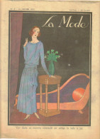 """revue ancienne 1923 """"la Mode"""" N� 3"""