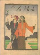 """revue ancienne 1923 """"la Mode"""" N� 7"""