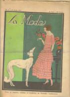 """revue ancienne 1923 """"la Mode"""" N� 8"""
