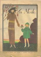 """revue ancienne 1923 """"la Mode"""" N� 9"""