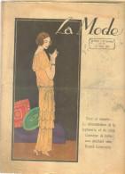"""revue ancienne 1923 """"la Mode"""" N� 11"""