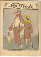 """revue ancienne 1923 """"la Mode"""" N� 19"""