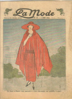 """revue ancienne 1923 """"la Mode"""" N� 23"""