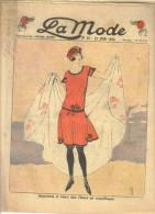 """revue ancienne 1923 """"la Mode"""" N� 25"""