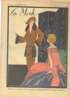 """revue ancienne 1923 """"la Mode"""" N� 50"""
