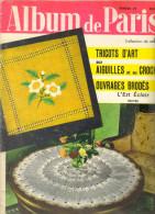 """revue ancienne de mode 1962 """"Album de Paris"""" N� 29 Tricots d�Art"""