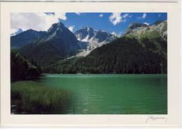 Lago Di ANTERSELVA Con Collaspro E Collalto, ANTHOLZER SEE M. Wildgall Und Hochgall - Italia