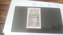 LOT 229757 TIMBRE DE COLONIE OUBANGUI NEUF* N�16 VALEUR 20 EUROS