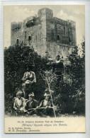 Undivided Back Pre 1904 Postcard Cyprus Ancienne Tour De Templiers - Ancient Castle Of Knight Templars - Chypre