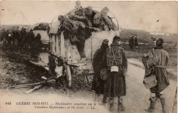 Highlanders Canadiens Sur Le Front (Edit. LL N°442) - Guerre 1914-18