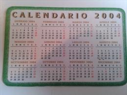 Alt598 Calendario Calendar, Calendrier, 2004 Restaurant Ristorante Torino - Calendarios
