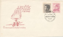 "Czechoslovakia / First Day Cover (1953/17) Praha 1 (c): Julius Fucik (1903-1943) Cz. Journalist ""Notes From The Gallows"" - 2. Weltkrieg"