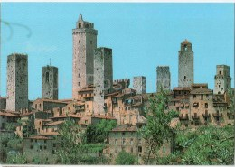 panorama - Citta Di S. Gimignano - Siena - Toscana - 1844 - Italia - Italy - unused