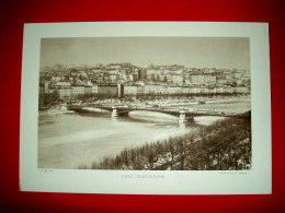Lyon , Croix-Rousse 1937  Héliogravure  Cliché Blanc Et Demilly   Pont Morand - Photographs