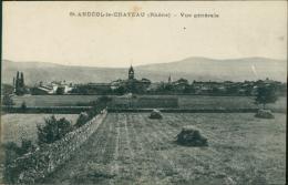 69 SAINT ANDEOL LE CHATEAU / Vue Générale / - Autres Communes