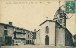 69 SAINT ANDEOL LE CHATEAU / Place De L'Eglise / - Autres Communes