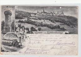 Gruss Vom Kahlenberge. Vienna, Used To Italy 1902 - Gruss Aus.../ Grüsse Aus...