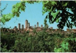 panorama - Citt� di San Gimignano - Siena - Toscana - 162 - Italia - Italy - unused